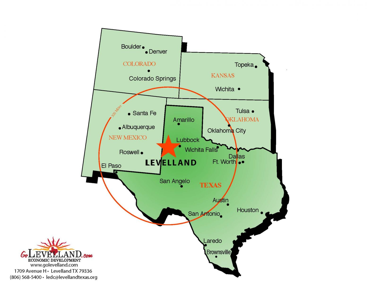 State Map Of Texas With Cities.Maps Levelland Economic Development