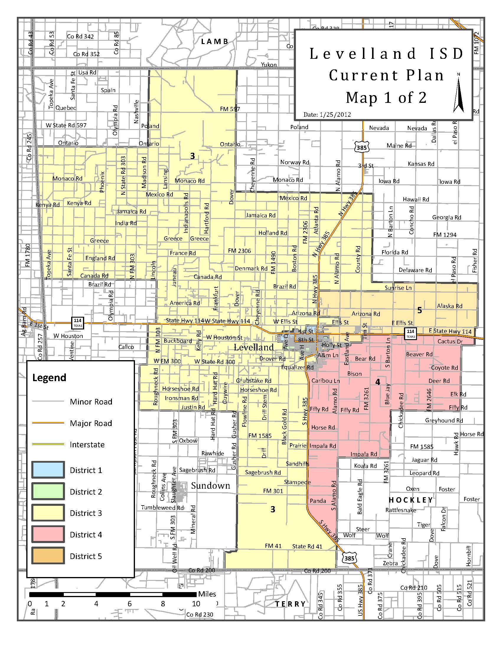Map Of Texas Isds.Levelland Isd Boundary Map Levelland Economic Development